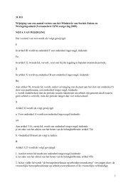 Artikel II Wijziging Pensioenwet - docs.szw.nl