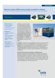 Dank der idealen CAD-Lösung schneller ... - Siemens PLM Software