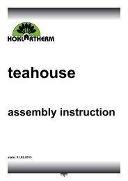 assembly instruction - Exaco
