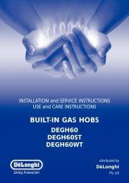 BUILT-IN GAS HOBS - Appliances Online