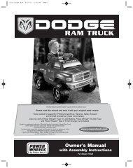73520 Dodge Ram - Mattel