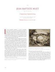 Jean Baptiste Huet - A Shepherd and Shepherdess Resting