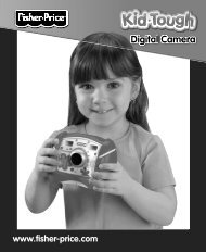V2751 : Kid-Tough® Digital Camera Blue - Mattel