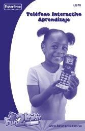 Teléfono Interactivo Aprendizaje - Fisher Price