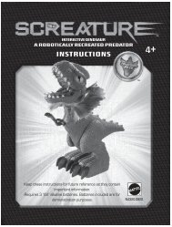 N4320 : Screature™ Interactive Dinosaur - Mattel