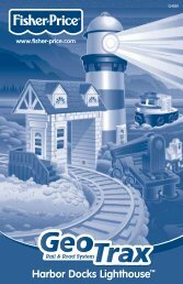 GEOTRAX™ Rail & Road System Harbor Docks Lighthouse - Mattel