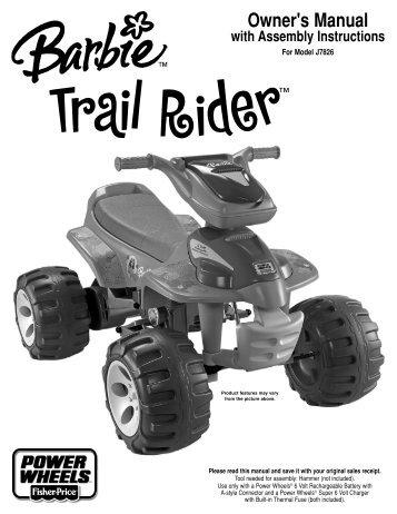 J7826 : Barbie™ Trail Rider (TRU) - Mattel