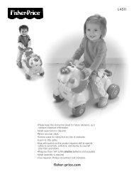 L4511 fisher-price.com - Mattel