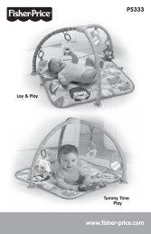 www.fisher-price.com P5333 - Mattel