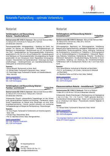 Generalvollmacht mit Substitutionsbefugnis - Notariate