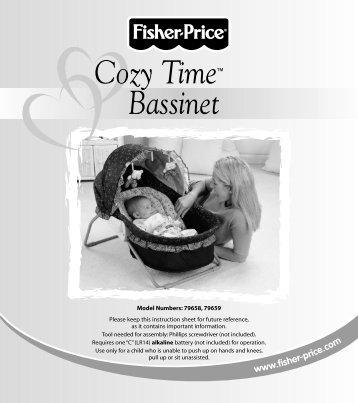 79658 : Cozy Time™ Bassinet - Mattel