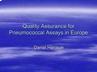 Immunoglobulin Reactivity to Pneumococcal Serotypes