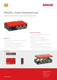 PDU254 - Power Distribution Unit - Brusa Elektronik AG