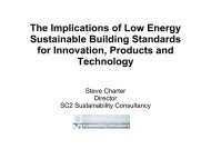 Steve Charter, Managing Director, SC2 Sustainability Consultancy