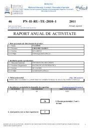 RAPORT ANUAL DE ACTIVITATE