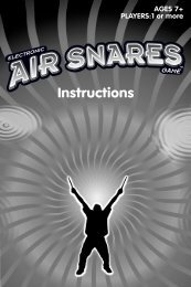 42743 : Electronic AIR SNARES™ Game - Mattel