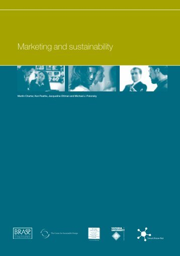 Marketing and sustainability