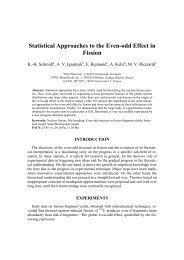 Statistical Approaches to the Even-odd Effect in Fission