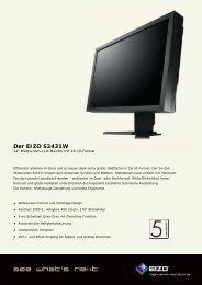 Der EIZO S2431W