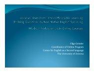 presentation slides - Calico
