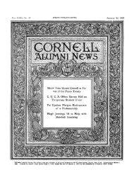 Straw Vote Shows Cornell in Fa- vor of the Peace Treaty C. U. C. A. ...