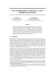 The Local Rademacher Complexity of lp-Norm Multiple Kernel ...