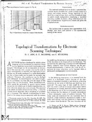 Topological Transformations by Electronic Scanning ... - Vasulka,org