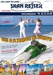BUS & FLYREJSER TIL EUROPA