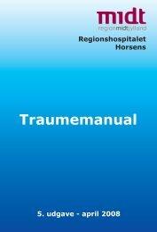 Traumemanual fortløbende.pdf - e-Dok