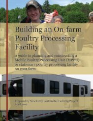 Building an On-farm Poultry Processing Facility - Sustainable ...
