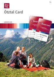 Ötztal Card - Prijsvraag - Sölden