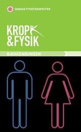 Pjece: Bækkenbunden - Danske Fysioterapeuter