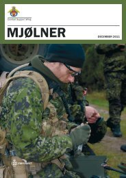 Mjølner december 2011.indd - Forsvarskommandoen