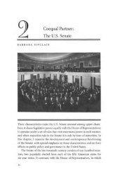 Coequal Partner: The U.S. Senate - The Ohio State University Press