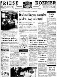 Friese koerier : onafhankelijk dagblad voor Friesland en ...