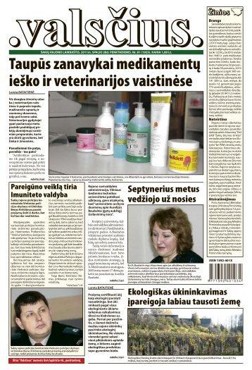 Taupūs zanavykai medikamentų ieško ir veterinarijos vaistinėse