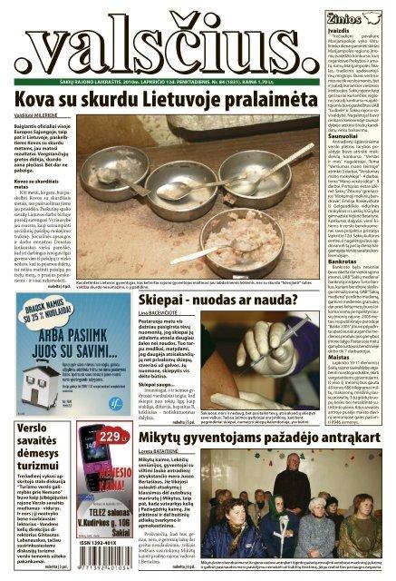 Kova su skurdu Lietuvoje pralaimėta