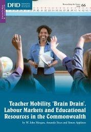Teacher Mobility - University of Nottingham
