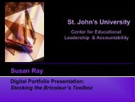 Digital Portfolio PowerPoint Presentation