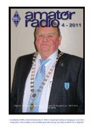 Forsidebilde til NRRLs tidsskrift Amatørradio nr. 4/2011 i anledning ...