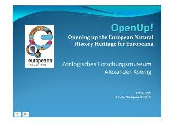 28. Zoologisches Forschungsmuseum Alexander Koenig - Klaus ...