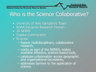 Background on Science Collaborative Project - National Estuarine ...
