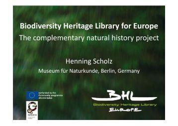 5. BHL-Europe - Henning Sholz.pdf - OpenUp!