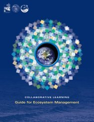Collaborative Learning Guide - For Ecosystem Management - CICEET