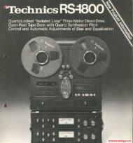 tcchnicecutniogusmom - Technics Catalogus