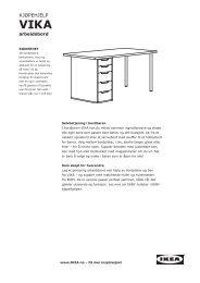 VIKA kjøpehjelp (PDF) - Ikea