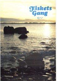 Fiskets Gang. Nr. 13-1984. 70. årgang