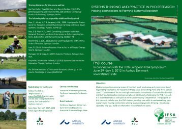 download a flyer - IFSA symposium 2012
