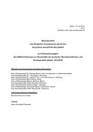 Berlin, XX - Deutscher Anwaltverein