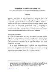 Jakob Leth Fink, Mennesket er et meningssøgende dyr - Aigis